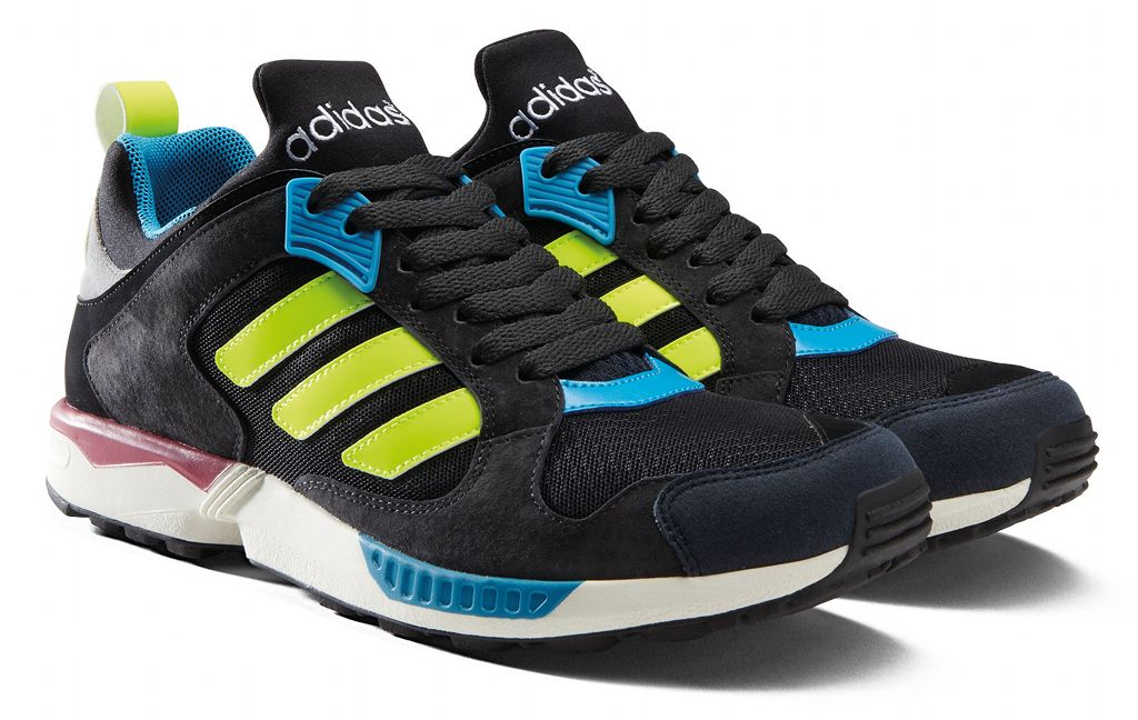 adidas Originals ZX 5000 RSPN - Spring/Summer 2014 - Black/Yellow-Blue-Red (2)