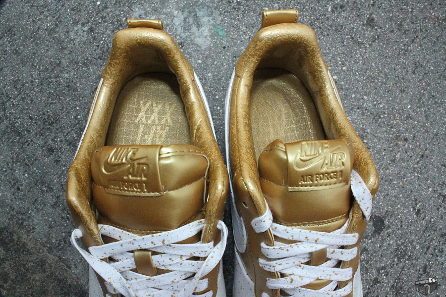 Nike Air Force 1 Low Supreme TZ Gold Medal 516630-170 (4)