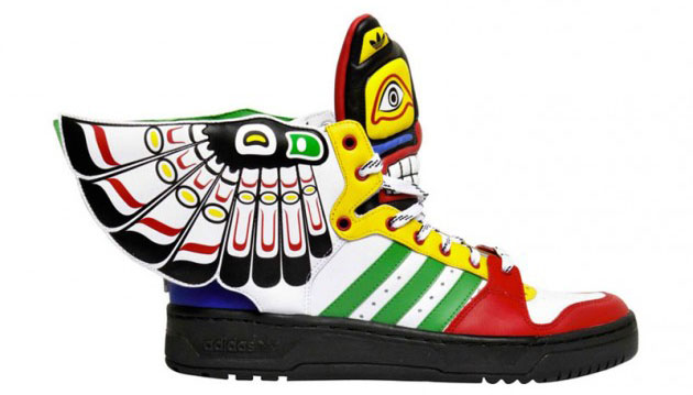 Adidas Original X Jeremy Scott Wings   Totem Shoes