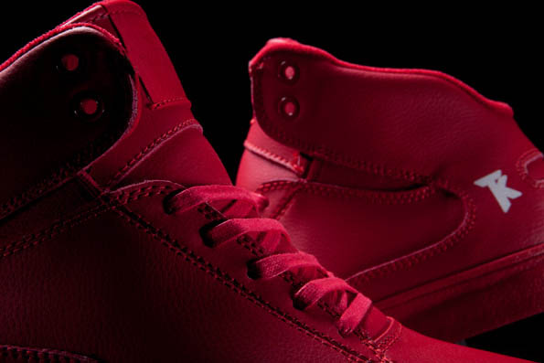 SUPRA Action Pack Society Mid Shoes Red (1)