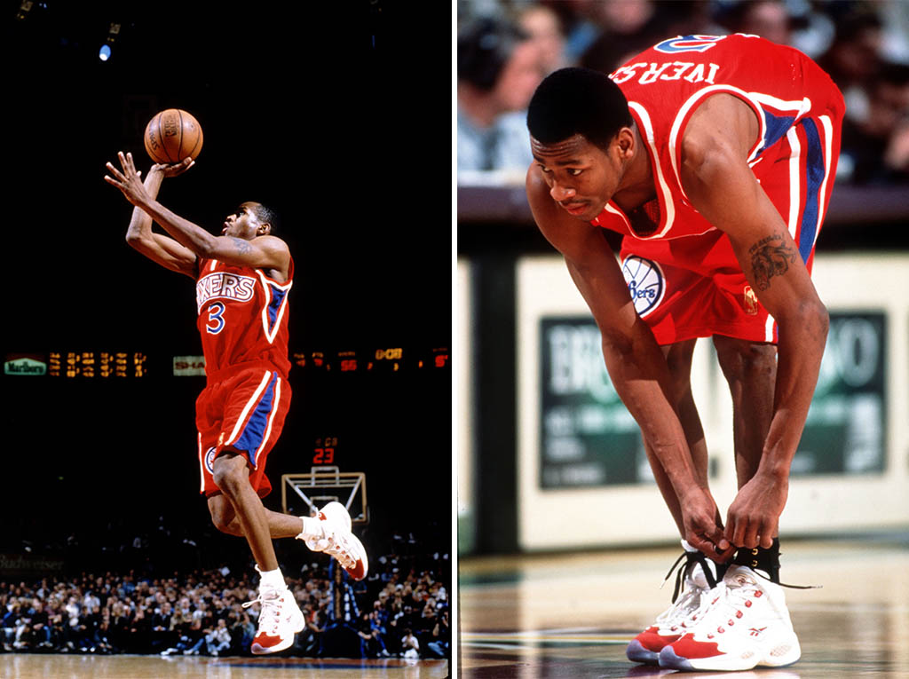 Reebok Question White Red 2012 Official Allen Iverson Shoes (8)