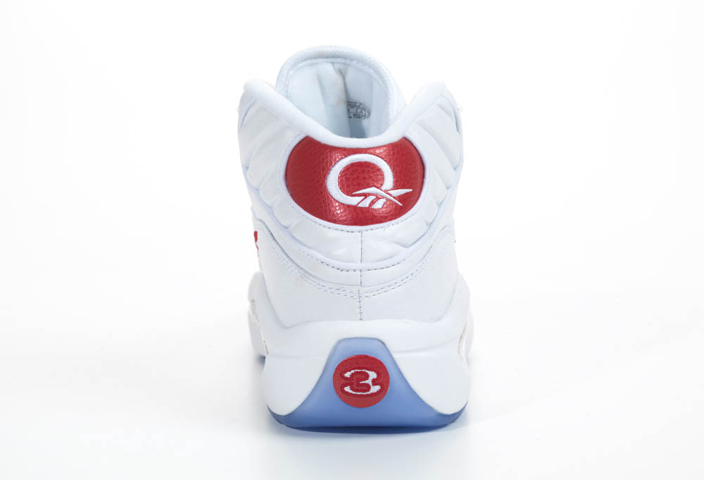 Reebok Question White Red 2012 Official Allen Iverson Shoes (5)