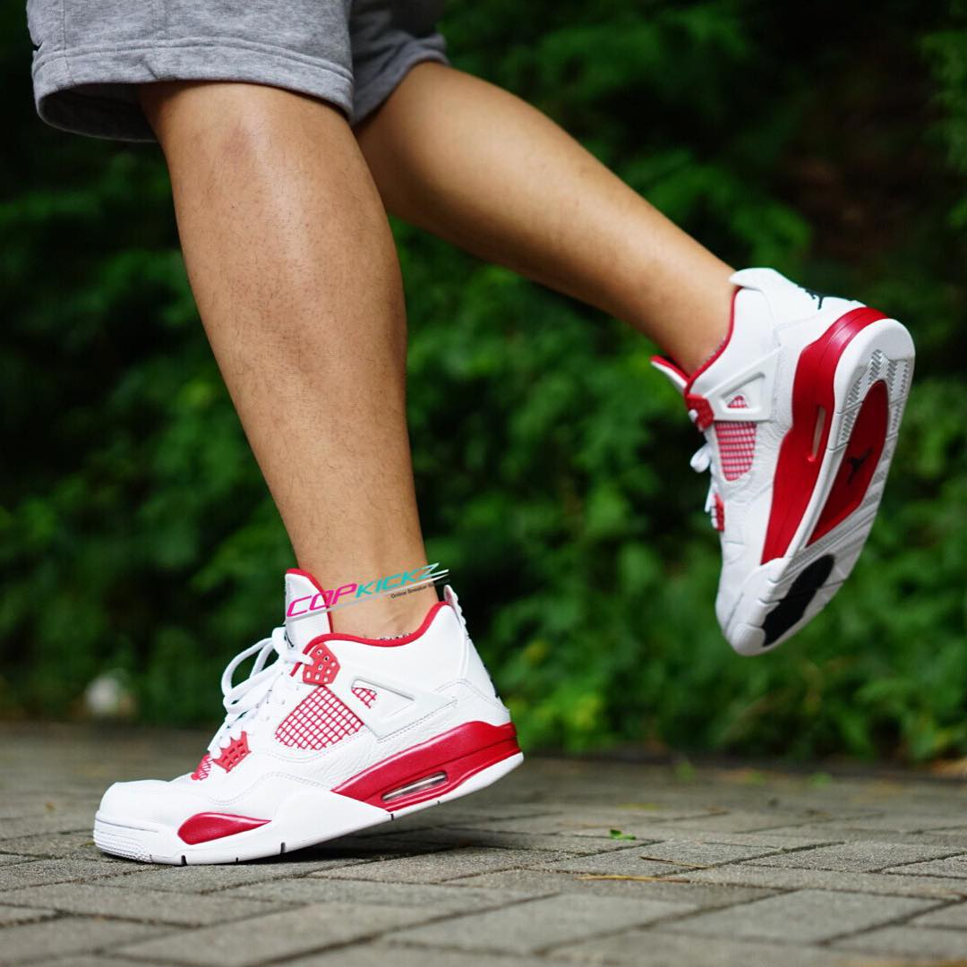Air Jordan 4 'Alternate 89' On-Foot 308497-104 (6)