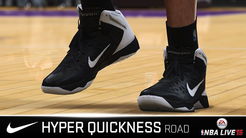 NBA Live 15 Sneakers: Nike Zoom Hyper Quickness Away