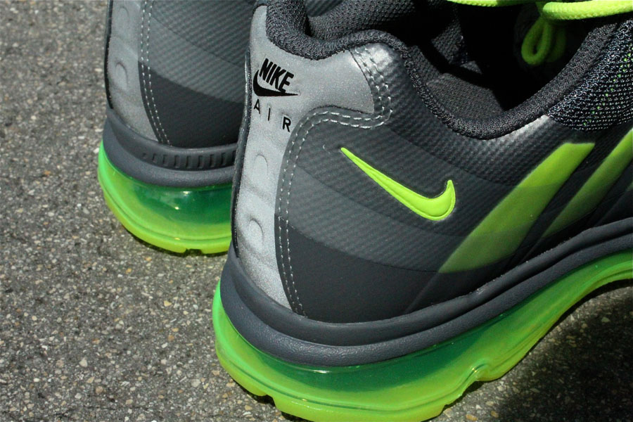 Nike Air Max 95 Sneakerboot | Anthracite Volt Dark grey
