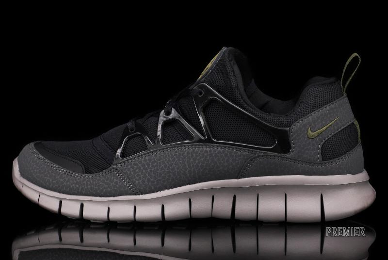 Nike Lumière Huarache Gratuite Noir Anthracite Adouci