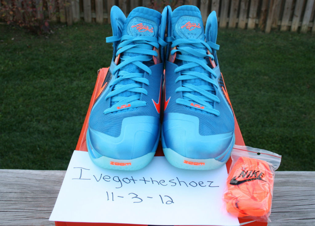 Nike LeBron 9 P.S. Elite China Blue Flame (3)