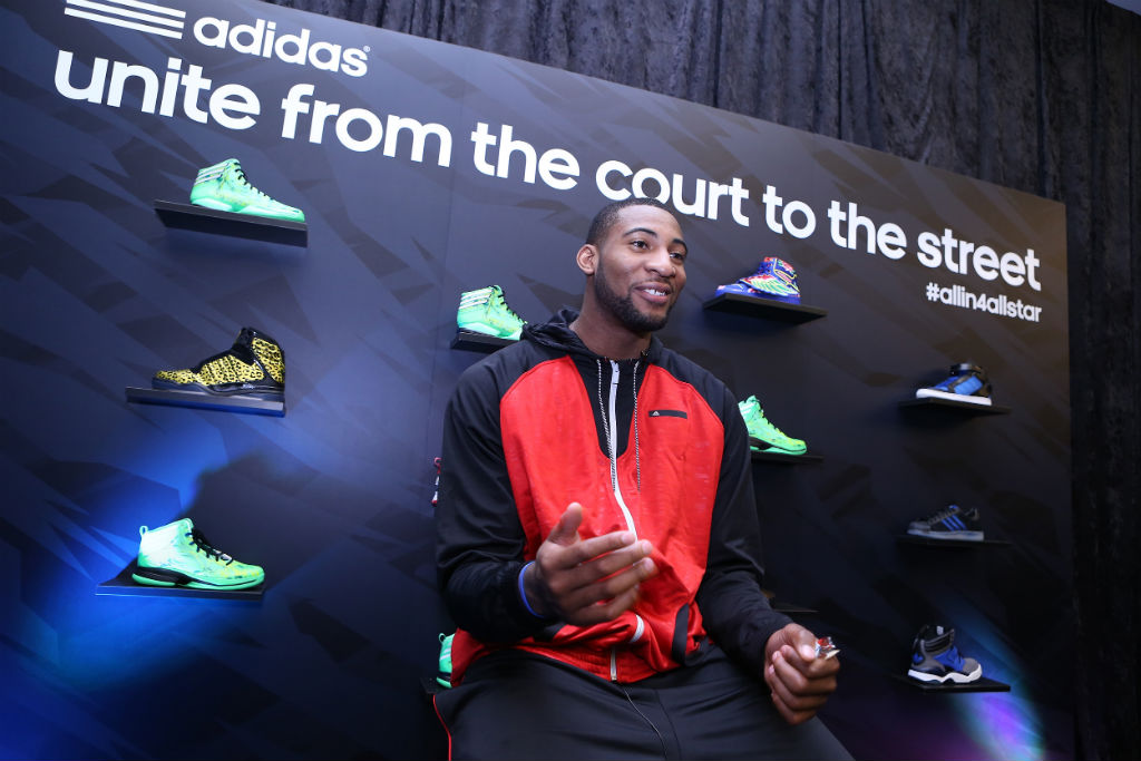 adidas Basketball Athletes Celebrate NBA All-Star // Andre Drummond (2)