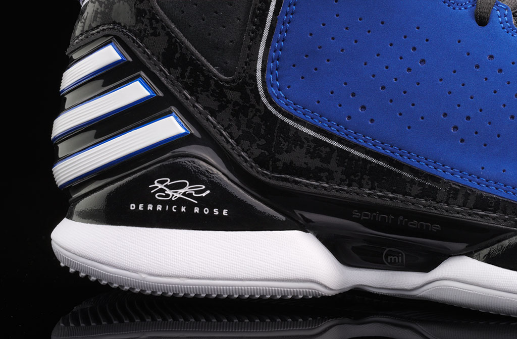 adidas Rose 773 Blue Black White (4)