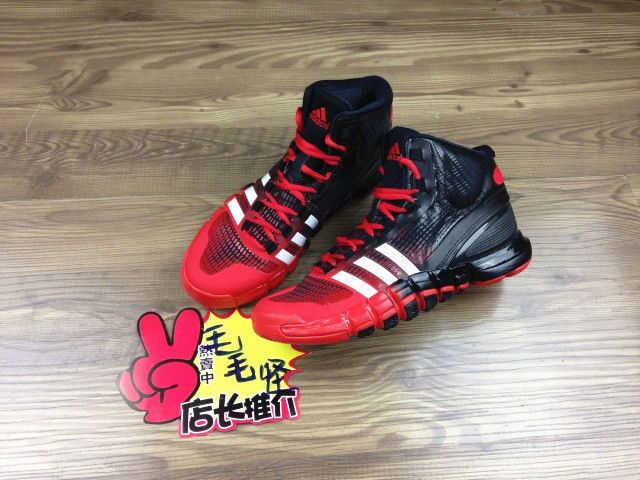 adidas Crazyquick Black Red (1)