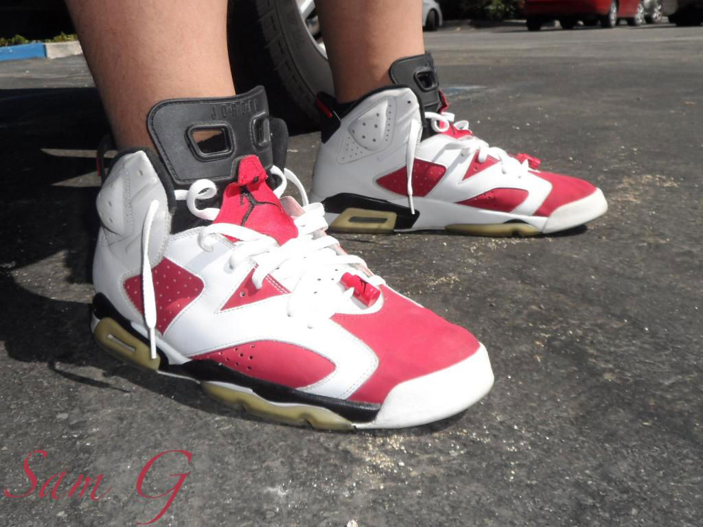 Spotlight // Forum Staff Weekly WDYWT? - 10.5.13 - Air Jordan VI 6 Retro Carmine by lashoecollector