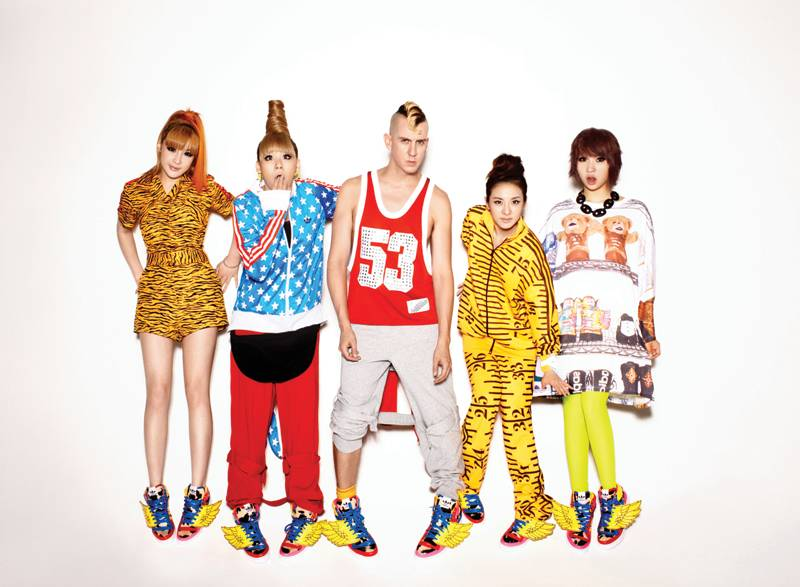 adidas Originals x Jeremy Scott for 2NE1