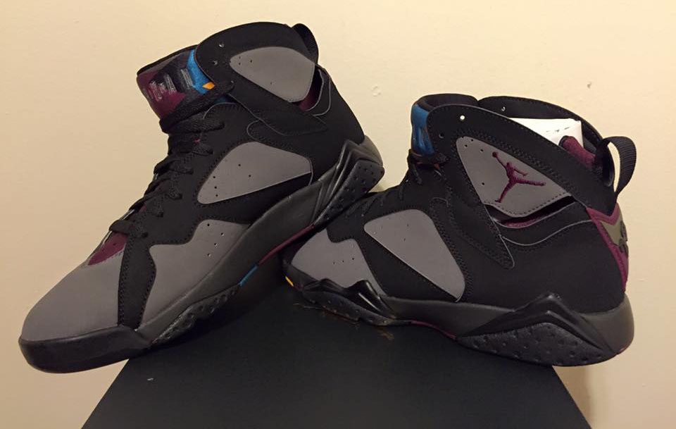 new arrivals b4c74 01ccd Air Jordan VII 7 Bordeaux Remastered 304775-034 (1)
