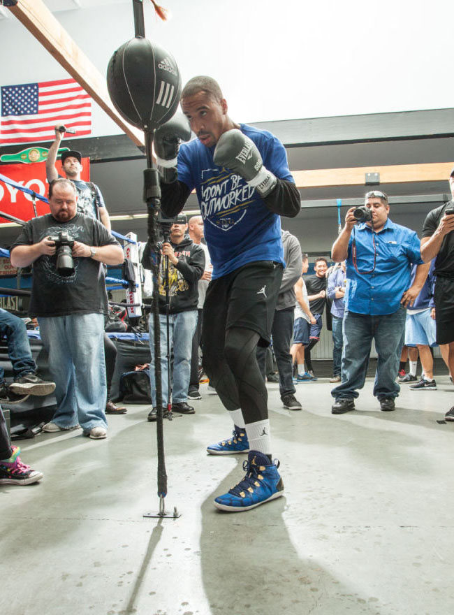 Andre Ward wearing Air Jordan 28 SE Boxing Boot (3)