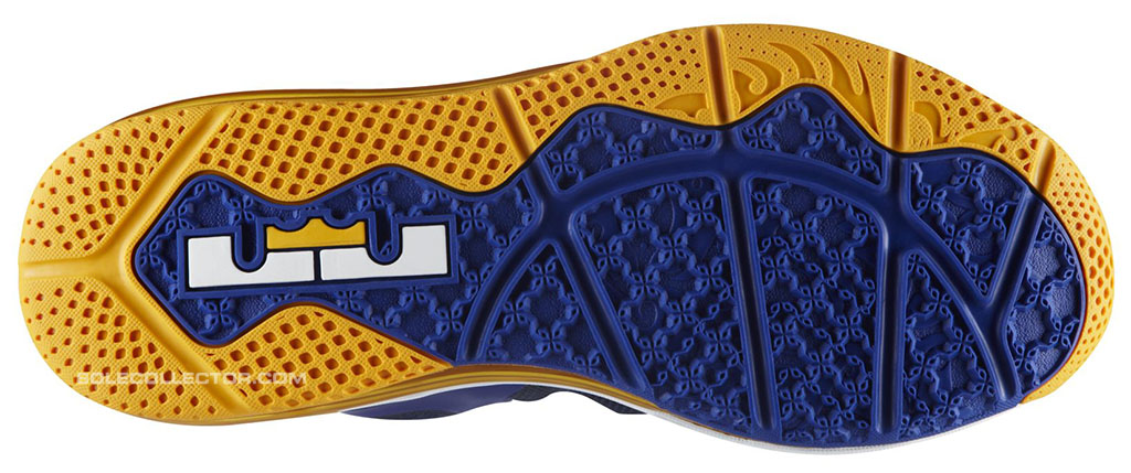 8fa99d7595 Nike LeBron 9 Low Entourage WBF Game Royal University Gold Midnight Navy  510811-402 (
