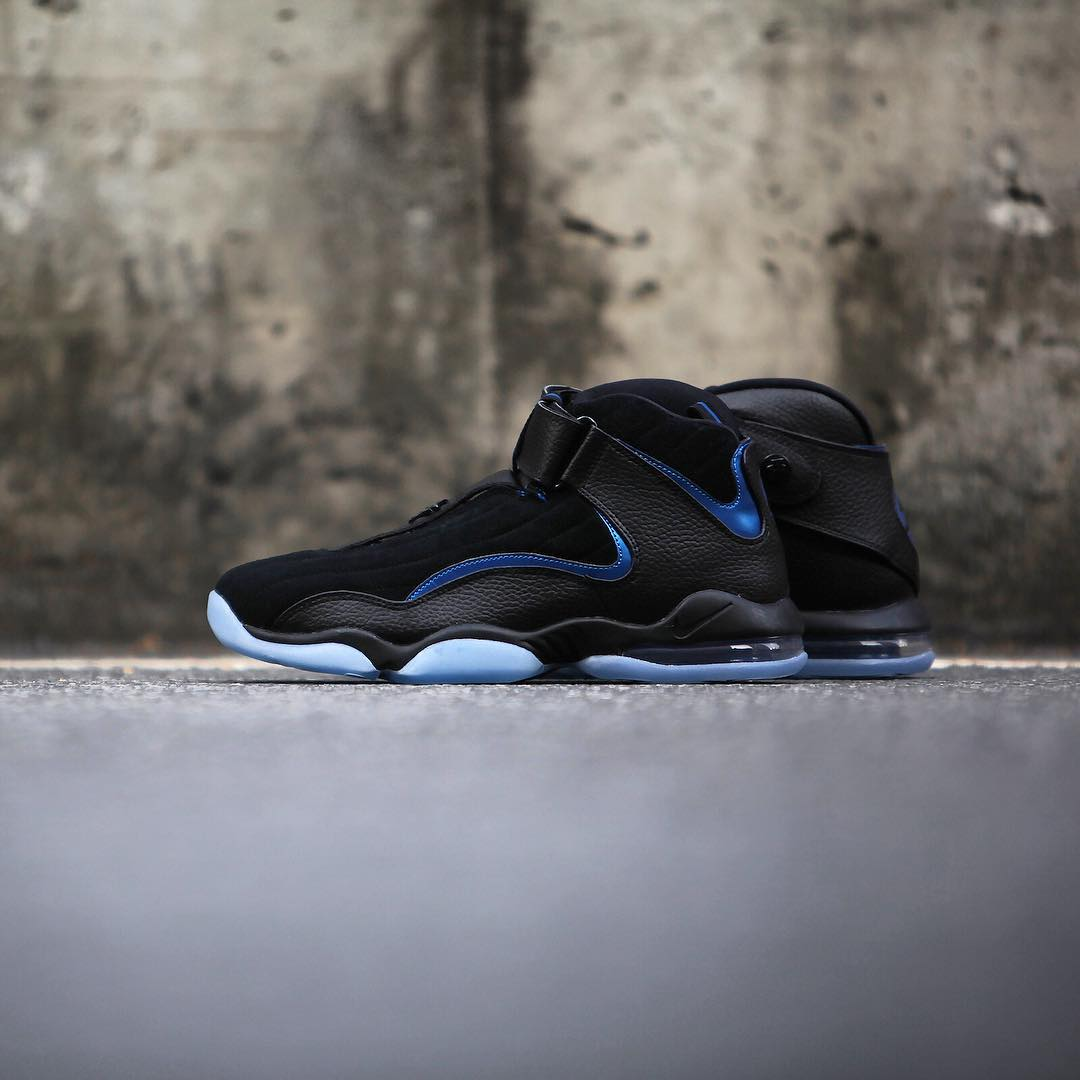 Nike Air Penny 4 Retro Black/Blue 2017 Release Date (6)