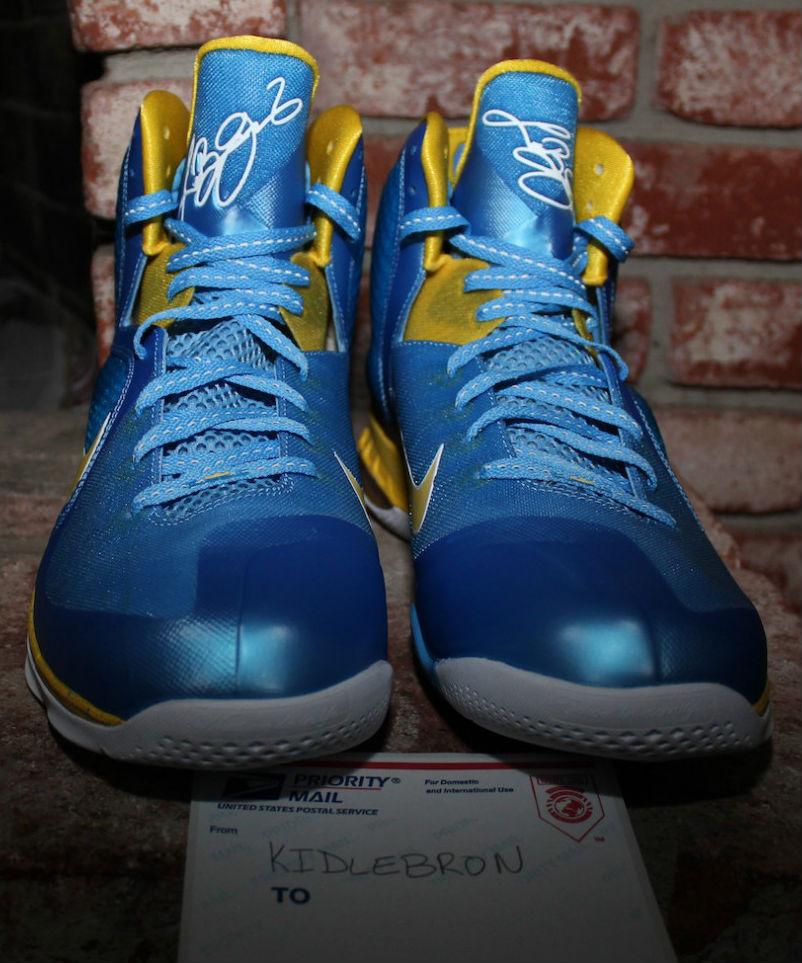 Nike LeBron IX 9 Swin Cash Chicago Sky PE (5) 6741cf7a9