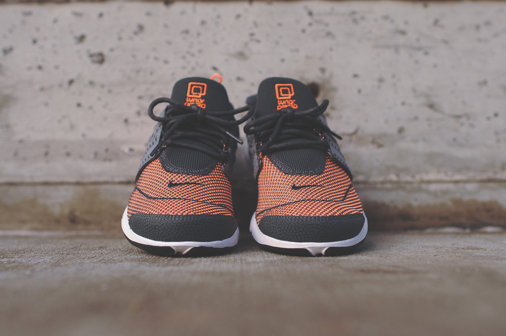 Nike Lunar Presto - Anthracite/Atomic Orange