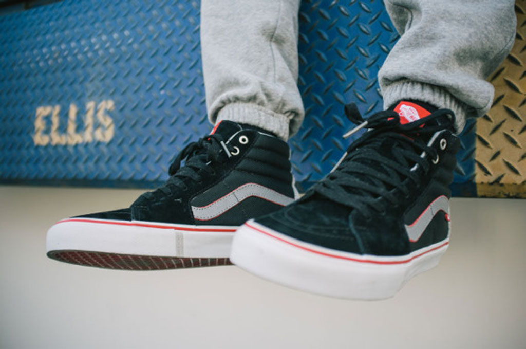 cheap vans sk8 hi on feet  532b403e742f