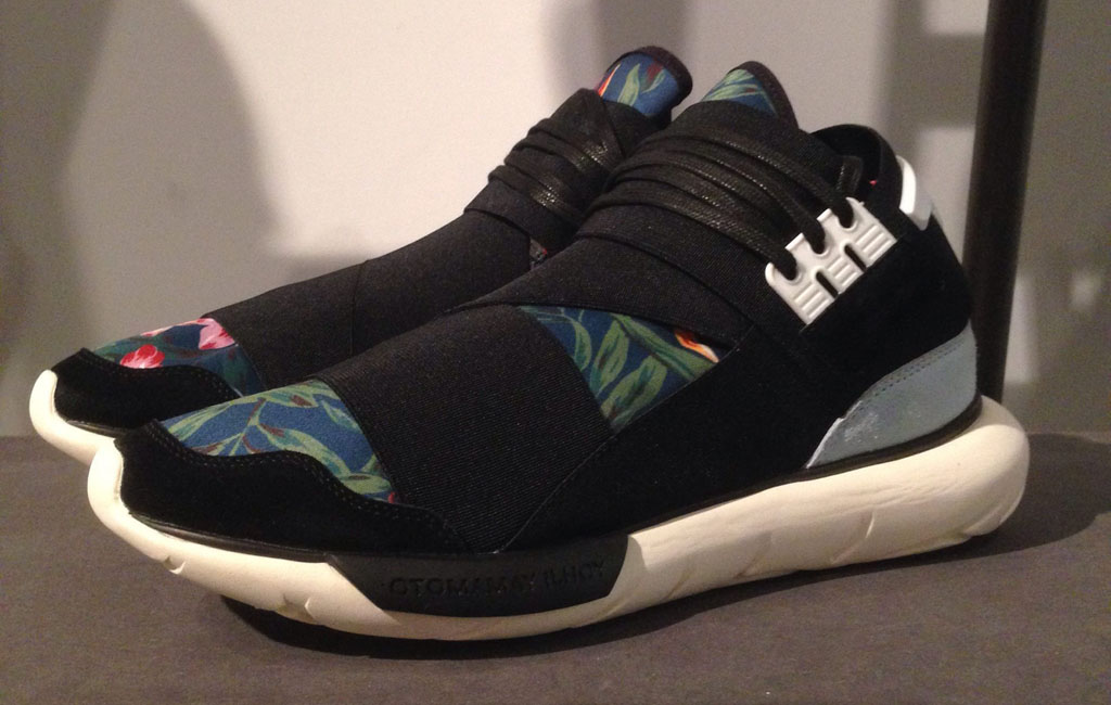adidas Y-3 Qasa High 'Floral' for Spring/Summer 2015 (2)