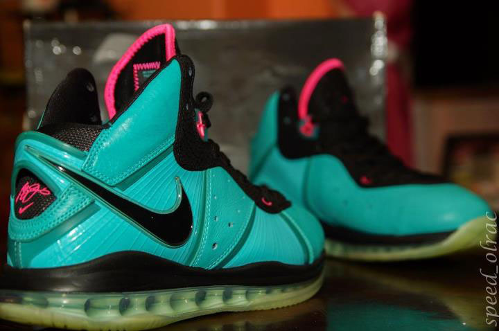 Pickups of the Week // Nike LeBron 8 South Beach by speed_olrac