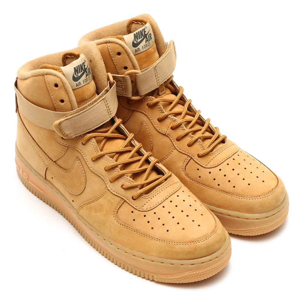 the best attitude 176bd 796d0 Here s an On-Feet Look at the  Wheat  Nike Air Force 1