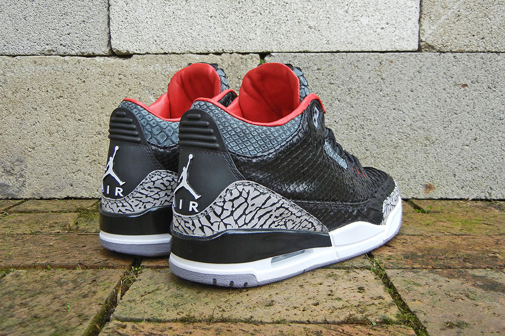"Air Jordan III 3 Retro ""Black Python"" by JBF Customs (6)"