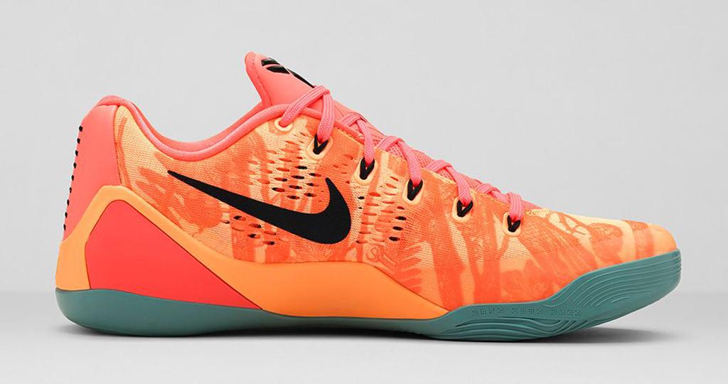 73f79626fc61 The  Peach Cream  Nike Kobe 9 EM hits nike.com as well as select Nike  Basketball retailers on Thursday