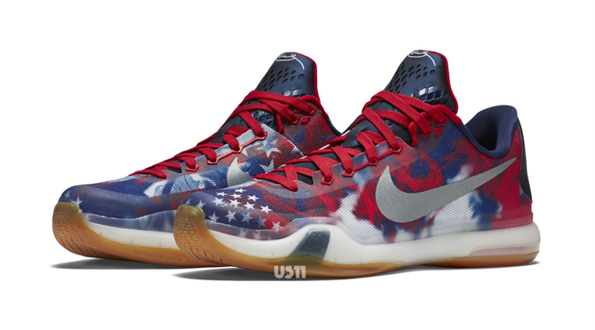 Your Best Look Yet at the 'USA' Nike Kobe 10 Sole Collector