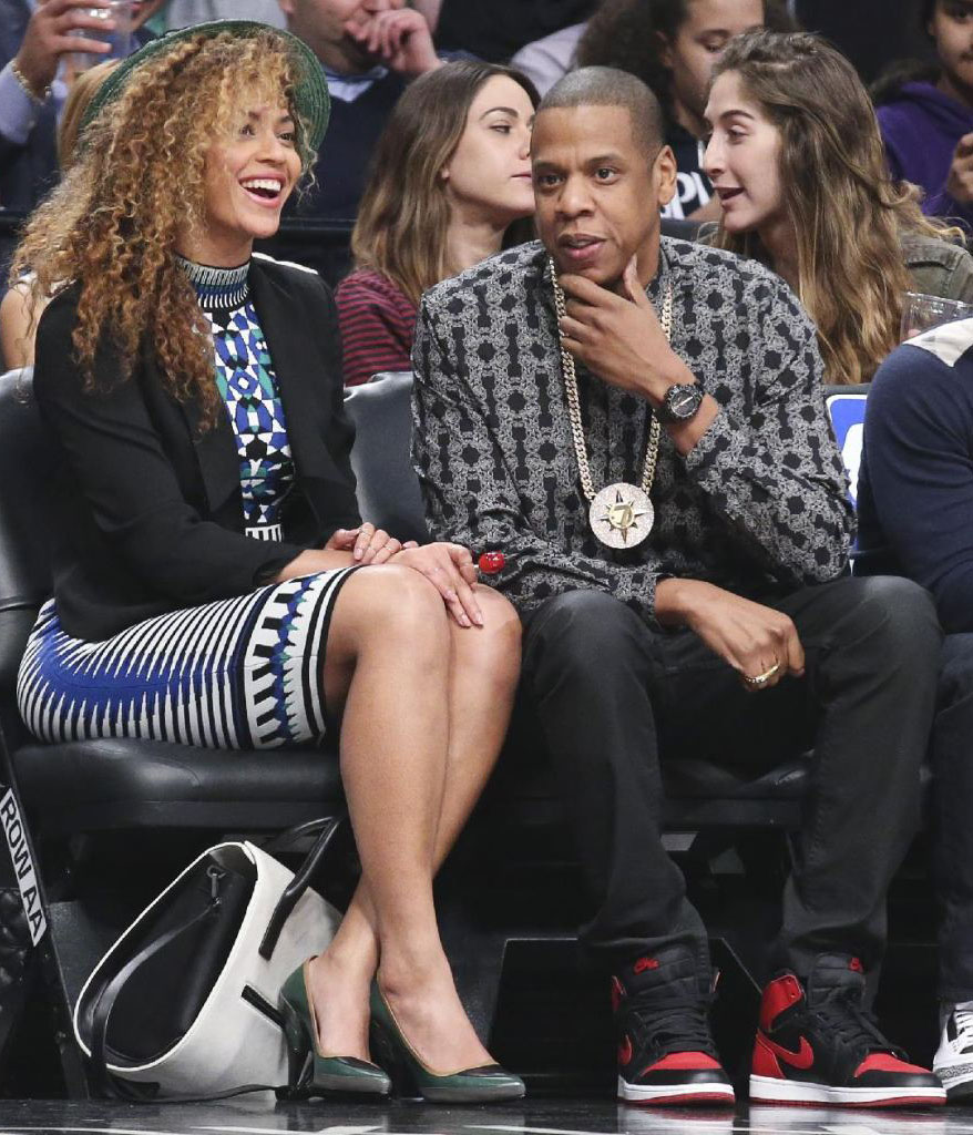 Jay Z Wears 'Bred' Air Jordan 1 (1)