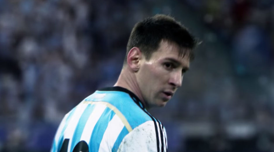 The Dream: all in or nothing featuring Kanye West & Messi