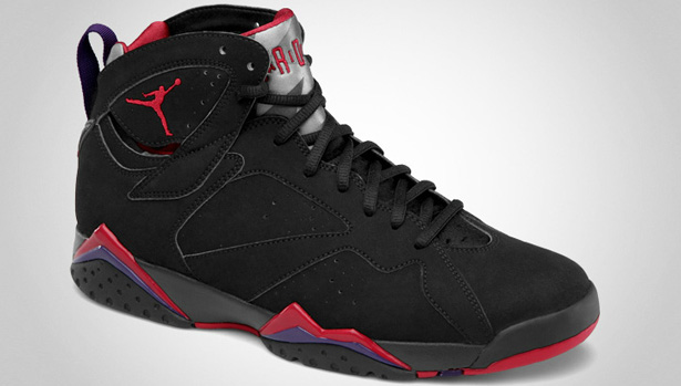 air jordan retro 7 purple black