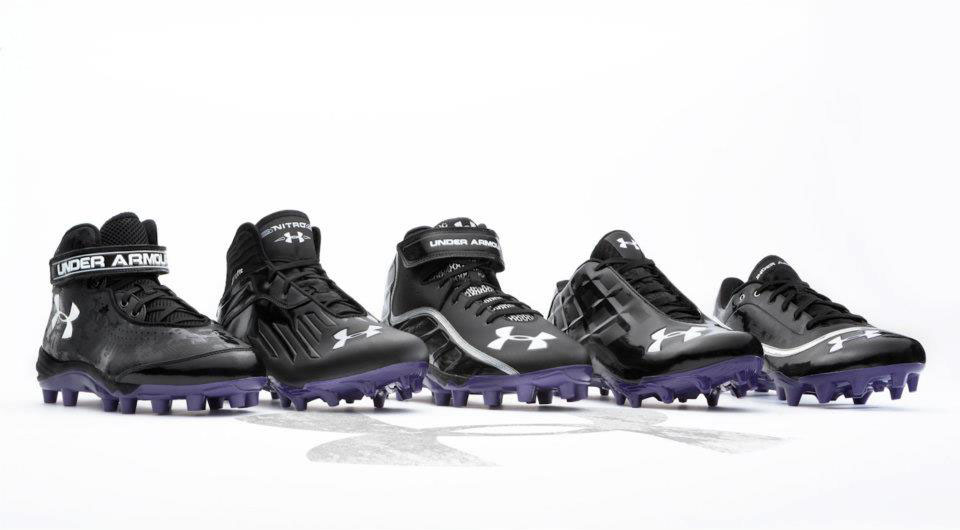 Under Armour Team Exclusive Cleats for Northwestern