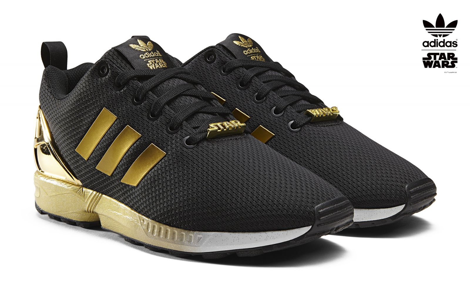 Adidas Zx Flux Gold Womens