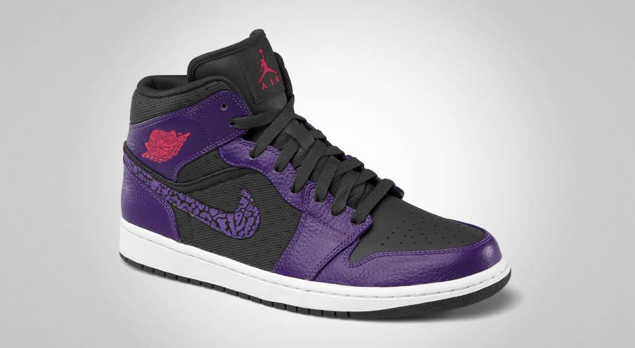 Air Jordan 1 phat style purple