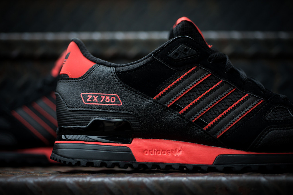 16b8a83a4 ... 50% off adidas zx 750 black red 6276d b59d7