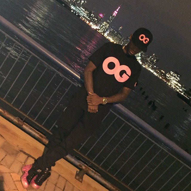Fabolous wearing Nike Air Foamposite One Pearlized Pink