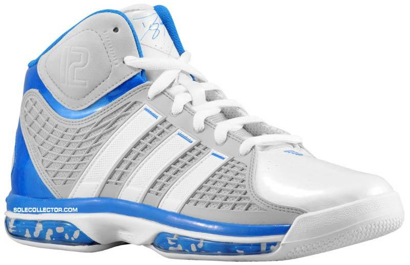 the latest e6a6c 6eb53 adidas adiPower Howard White Grey Blue G20283