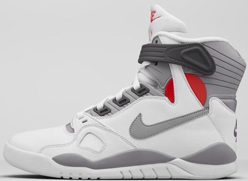 Nike Air Pressure White/Gamma Orange-Midnight Fog-Cement Grey