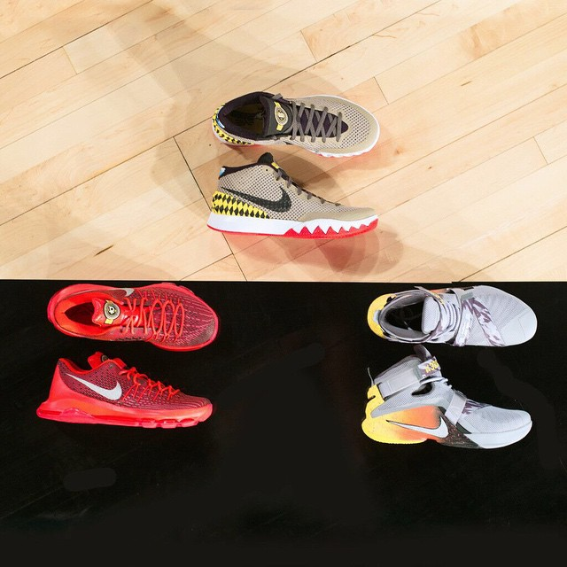 on sale fa32e e5272 Nike EYBL Sneakers 2015 (2)