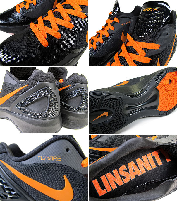 Nike Zoom Hyperdunk 2011 Low Linsanity Black Orange Blaze 487638-081 (3) 0d476e06a