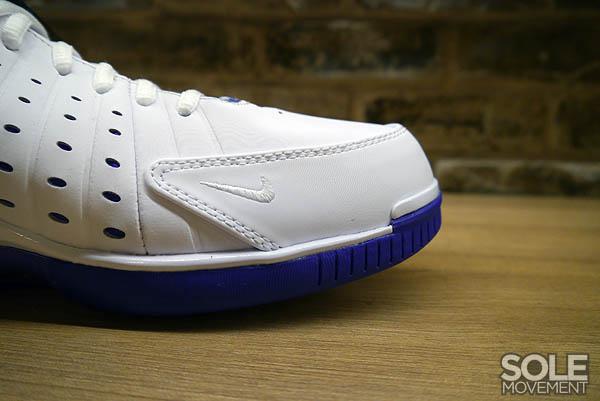 the best attitude d1cfc 336f5 Nike Air Zoom Huarache 2K4 White Metallic Silver Pro Purple 511425-115 (3)