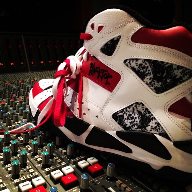 Rick Ross Picks Up Reebok Blacktop Battleground Flash Red