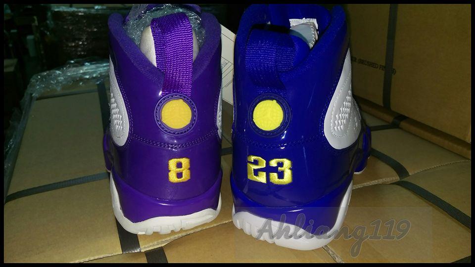 Air Jordan 9 Kobe PE Comparison  55ada61c7