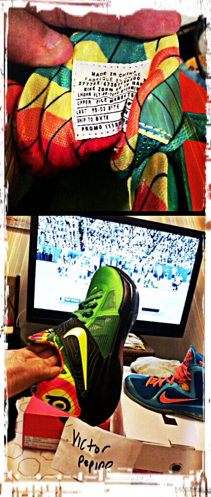 Pickups of the Week // Nike Zoom KD IV Weatherman Sample by pickle