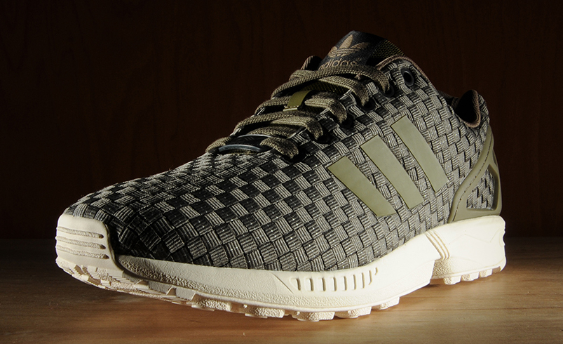 sports shoes 7c324 d362b The adidas ZX Flux Gets a Reflective Woven Treatment | Sole ...