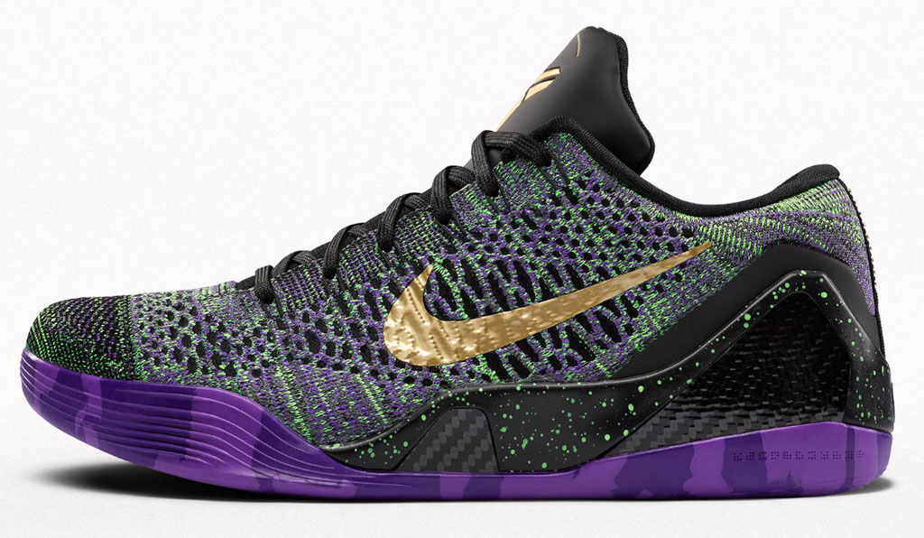 NIKEiD Kobe 9 Elite Low Scoring List