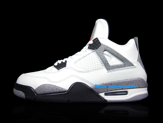 ac47209eec9d59 The Air Jordan Retro 4 White Cement colorway is slated for a February  release. Stay tuned for further updates. via Rstor