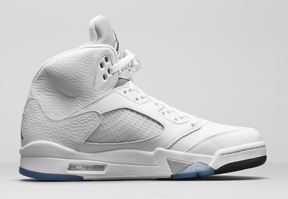best sneakers 30f1d 9bc12 How to Buy the 'White Metallic' Air Jordan 5 on Nikestore ...