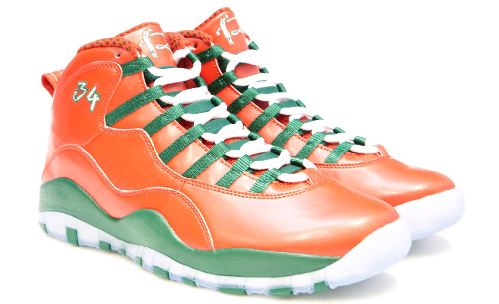 Air Jordan 10 Ray Allen Christmas PE (2)